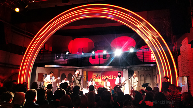 Nic Cester And The Milano Elettrica Live at Radio 2 Roma via asiago 10 sala b - 26 gennaio 2018